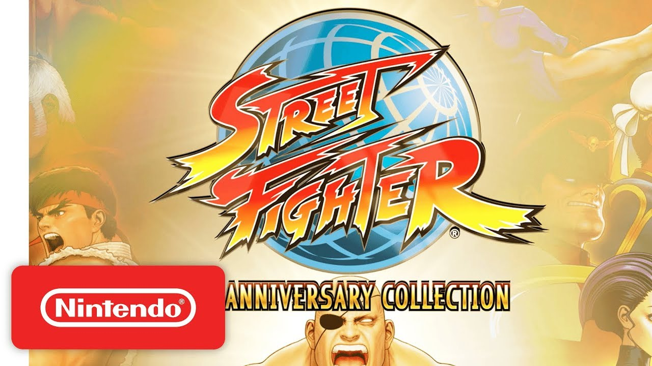 Image result for street fighter 30th anniversary collection switch