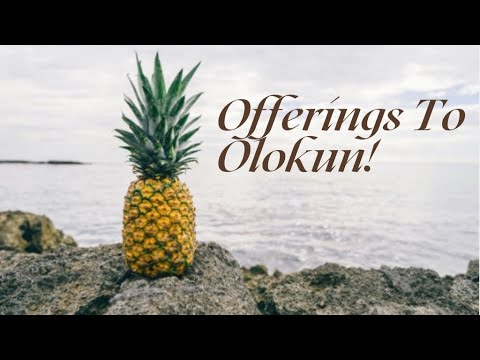 Download Offerings To Olokun! 🍉🥓🍌