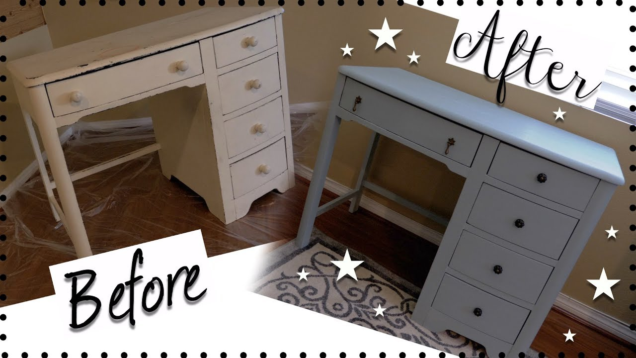 HOW TO CHALK PAINT FURNITURE! | How To Use Chalk Paint