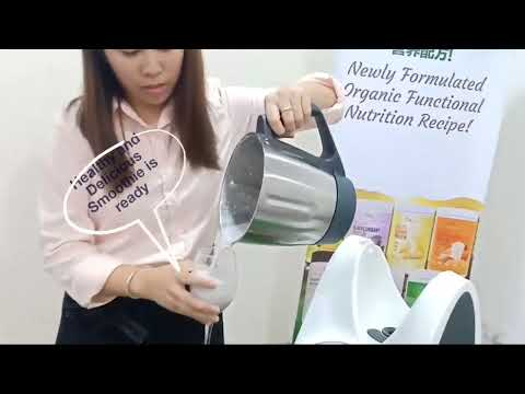 Nuewee Organic Blackcurrant Protein Smoothie- made by Thermomix TM31