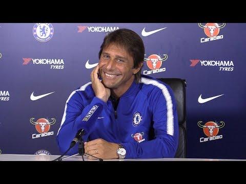 Antonio Conte Full Pre-Match Press Conference - Leicester v Chelsea - Premier League