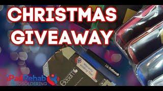 iPad Rehab Microsoldering Christmas Giveaway Livestream!