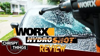 Worx HydroShot Review: How POWERFUL is it?