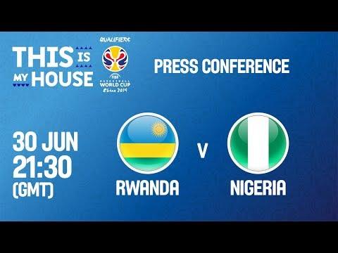 Rwanda v Nigeria - Press Conference - FIBA Basketball World Cup 2019