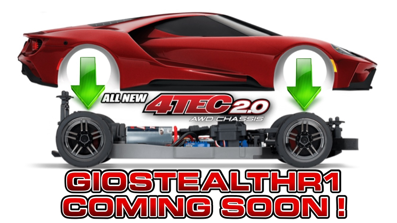 traxxas new 4tec2 0 ford gt 2017 youtube. Black Bedroom Furniture Sets. Home Design Ideas