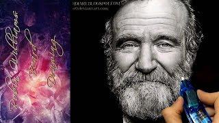 Robin Williams - Realistic Beard - Drawing