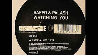 saeed palash ‎– watching you original mix