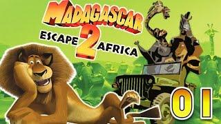 CZ GamePlay | Madagascar 2: Escape 2 Africa | 1. část |  Narcistní Jelimán