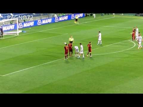 Roma Vs JUVENTUS  Rigore Kastanos 1-0