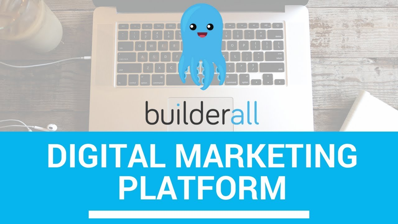 Build A Website - Builderall Digital Marketing Platform - YouTube