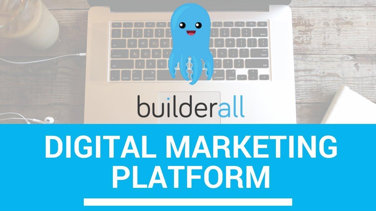 Build A Website - Builderall Digital Marketing Platform - YouTube