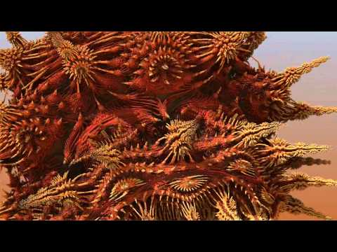 Meat virus take 2 - Mandelbulb 3D