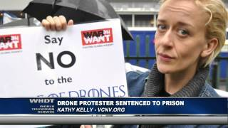 Drone Protester Kathy Kelly Sentenced To Prison