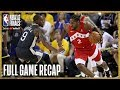 RAPTORS vs WARRIORS | Kawhi Leonard Drops 36 Points in Oracle| NBA Finals Game 4