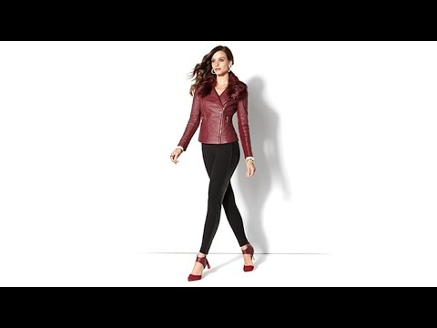 IMAN Platinum Quilted Leather Luxury Jacket