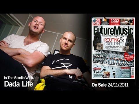 Dada Life In The Studio With Future Music Magazine issue 247