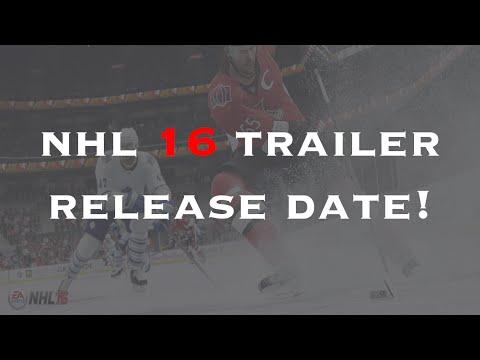 NHL 16 Trailer Release Date!