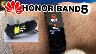Huawei HONOR BAND 5 Best Fitness Tracker 2019 Under $50