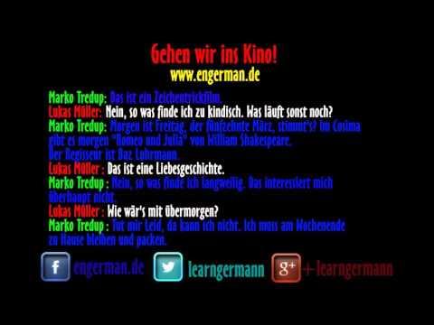 Deutsch Lernen | Dialog | Gehen wir ins Kino!