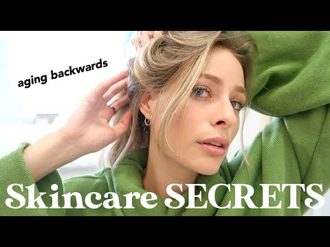My TOP 10 SKINCARE SECRETS **for clear, plump, anti-aging skin**