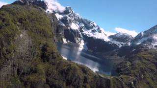New Zealand: Fiordland From Above [One Lidless Eye] [HD] [50fps]