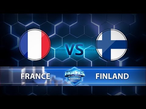 Nexus Games Europe - Group A Match 5 – France vs. Finland - Game 1