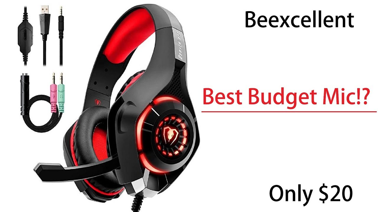 beexcellent gaming headset for ps4 xbox one pc surround sound review test youtube. Black Bedroom Furniture Sets. Home Design Ideas