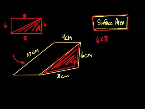 Surface area of a wedge - #28