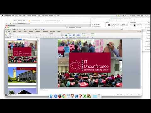 2016 IT Unconference Lightning Talks and Executive Summary