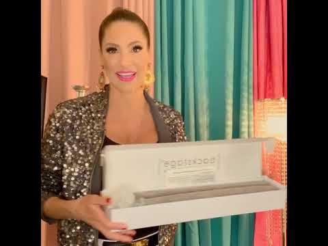 Jennifer Nicole Lee Reviews PakBrush! This brush holds accessories right inside!