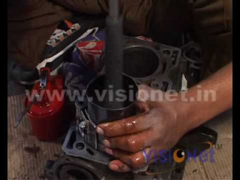 Fitting of Connecting Rod in Engine