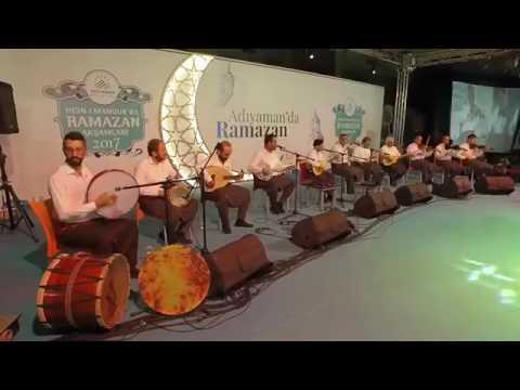 Adıyaman Harfane Sıra Geceleri..Adıyaman Belediyesi Ramazan şenlikleri  2017