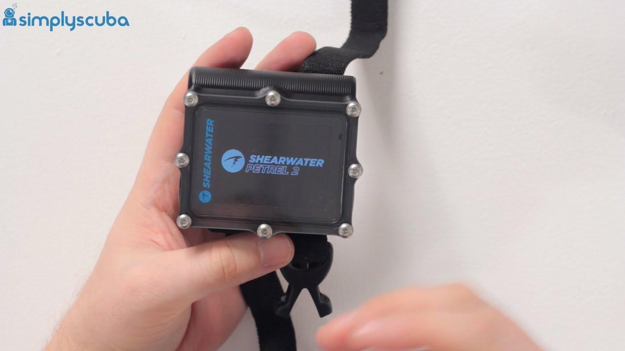 Shearwater Petrel 2 Dive Computer | Simply Scuba UK
