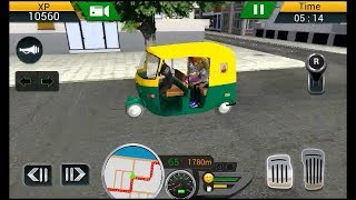 Tuk Tuk Driving Simulator 2018(by Racing Games Android)-Android Gameplay[FHD]