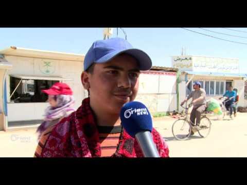 ثلث الأطفال في مخيم الزعتري منخرطون في سوق العمل  - 18:20-2017 / 4 / 20