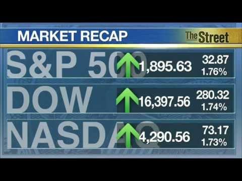 Stocks shoot higher as markets calm