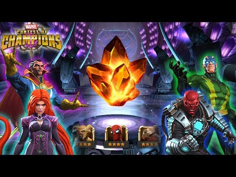 Triple 4 Star Crystal Opening: Marvel Contest Of Champions