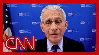 Hear what Dr. Fauci thinks about CDC's mask announcement