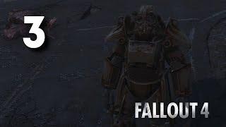 Силовая броня и миниган Fallout 4 3