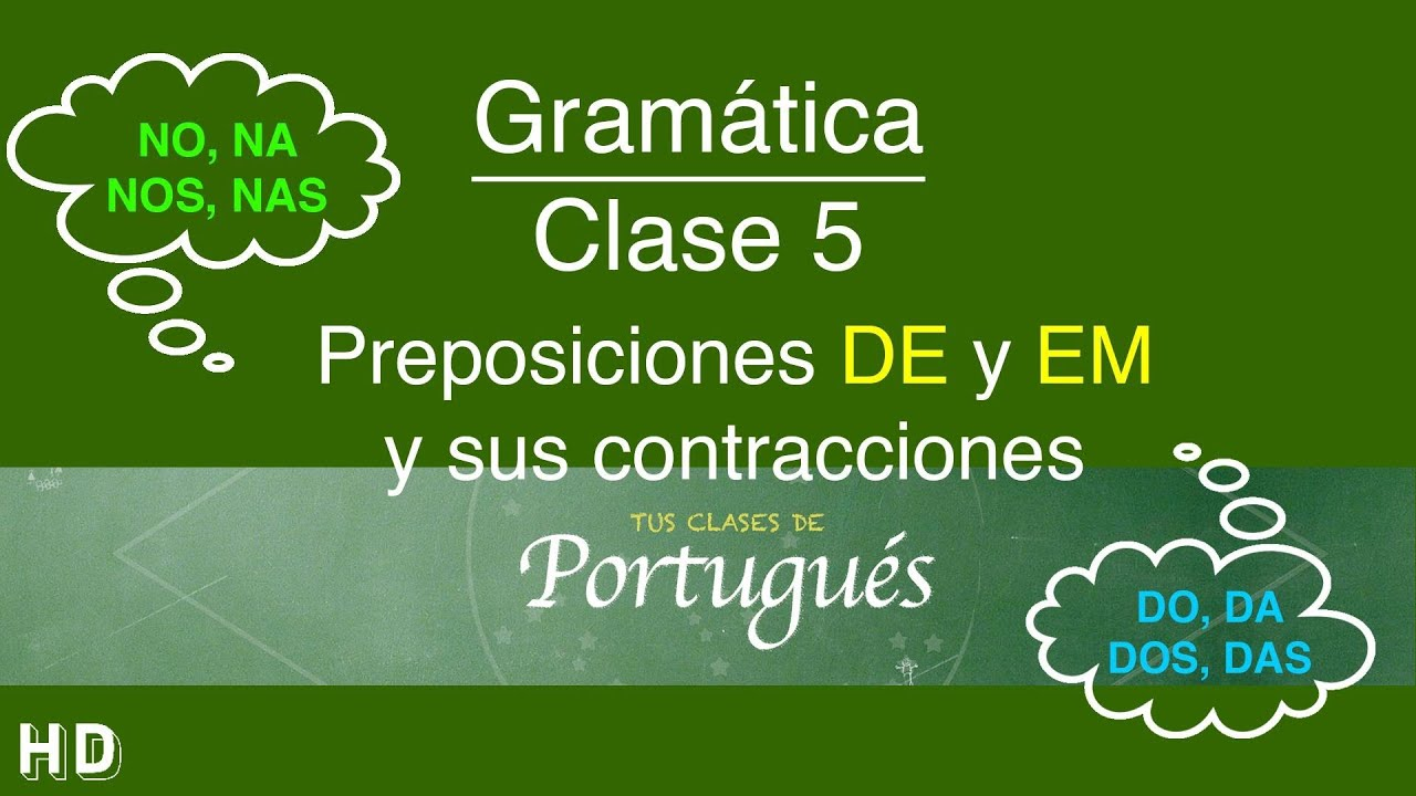 Clases de portugu s clase 5 1 art culos y for Lecciones de castorama de bricolaje