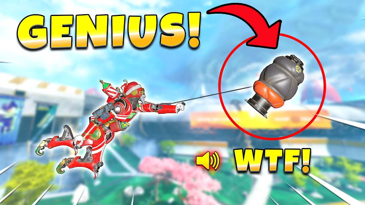 *NEW* GENIUS GAS GRAPPLE TRICK SHOT IS MIND-BLOWING!! NEW Apex Legends Funny & Epic Moments #502