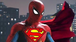 Spider-Man Flies Across New York City Like Superman in Marvel Spider-Man PS4