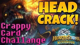 Crappy Card Challenge #1 - HEADCRACK