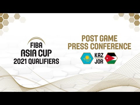 Kazakhstan v Jordan - Press Conference - FIBA Asia Cup 2021 Qualifiers