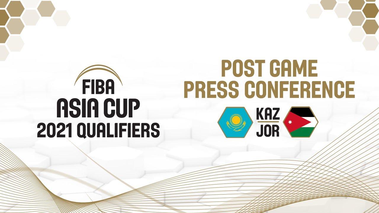 Kazakhstan v Jordan - Press Conference