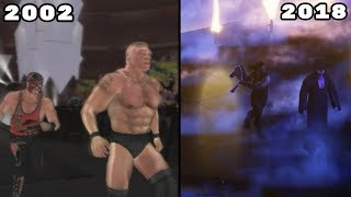 The Evolution Of Breakouts In WWE Games (2002-2018)