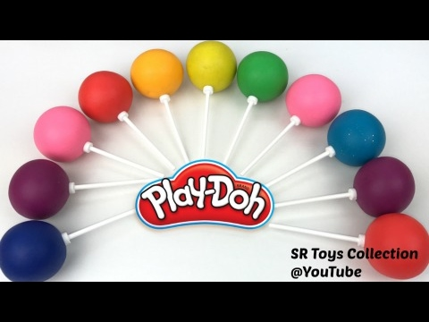 Thumbnail: Fun Learning Colors and Numbers with Play Doh Lollipops Video for Kids