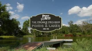 Pond King Floating T Dock Installation
