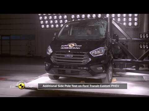 Euro NCAP Crash & Safety Tests Of Ford Transit Custom PHEV 2012