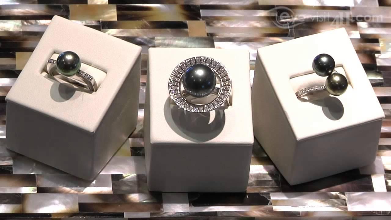 Tahiti Pearl Market Jewelry Bora Bora Youtube